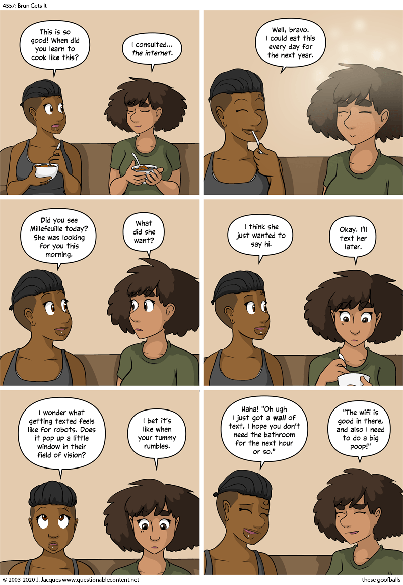 Questionable Content 22.9.2020